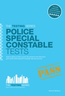 Police Special Constable Tests, Paperback Book