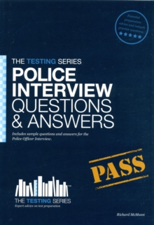 Police Officer Interview Questions & Answers, Paperback Book
