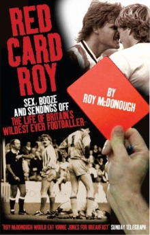 Red Card Roy, Hardback Book