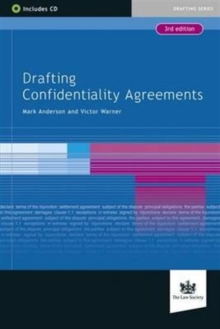 Drafting Confidentiality Agreements, Mixed media product Book