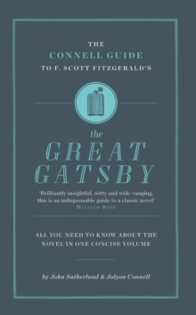 "The Connell Guide to F. Scott Fitzgerald's ""The Great Gatsby"", Paperback Book"
