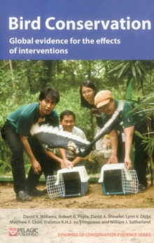 Bird Conservation : Global evidence for the effects of interventions, Paperback / softback Book