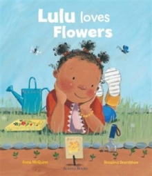 Lulu Loves Flowers, Paperback Book