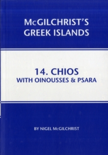 Chios with Oinousses & Psara, Paperback / softback Book