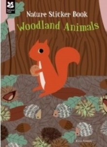 My Nature Sticker Activity Book: Woodland Animals, Paperback Book
