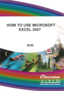 How to Use Microsoft Excel 2007, DVD  DVD