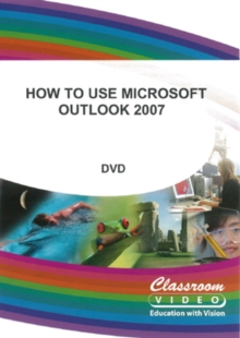 How to Use Microsoft Outlook 2007, DVD  DVD