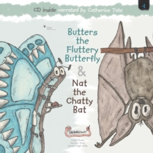 Butters the Fluttery Butterfly & Nat the Chatty Bat, Mixed media product Book