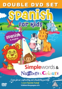 Spanish for Kids: Simple Words/Numbers and Colours, DVD  DVD