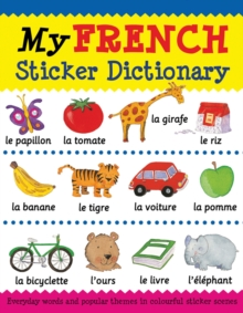 My French Sticker Dictionary, Paperback Book