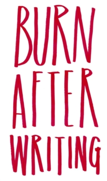 Burn After Writing, Record book Book
