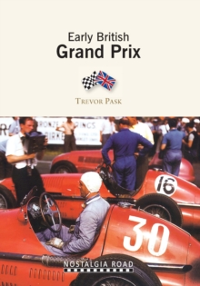 Early British Grand Prix, Paperback / softback Book