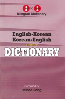 English-Korean & Korean-English One-to-one Dictionary : Suitable for Exams, Hardback Book