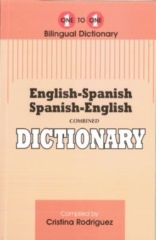 English-Spanish & Spanish-English One-to-One Dictionary, Paperback Book