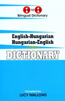 One-to-one dictionary : English-Hungarian & Hungarian-English dictionary, Hardback Book