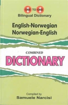 English-Norwegian & Norwegian-English One-to-One Dictionary : (Exam-Suitable), Paperback Book