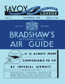 Bradshaw's International Air Guide, 1934, Hardback Book