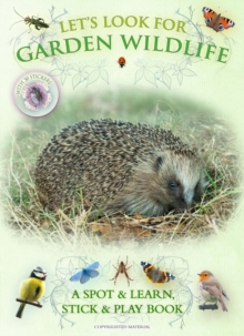 Let's Look for Garden Wildlife, Paperback Book