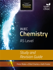 WJEC Chemistry for AS: Study and Revision Guide, Paperback Book