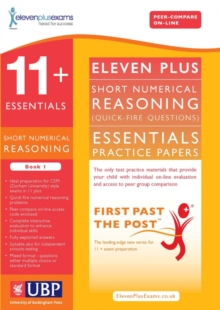 11+ Essentials Short Numerical Reasoning for CEM : Book 1, Paperback Book