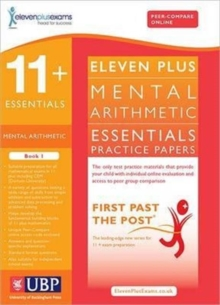 11+ Essentials Mental Arithmetic for CEM : Book 1, Paperback Book