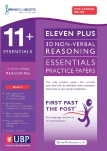 11+ Essentials 3D Non Verbal Reasoning for CEM : Book 2, Paperback Book
