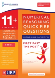 11+ Numerical Reasoning for CEM: Quick Fire Questions Multiple Choice : Book 2, Paperback Book