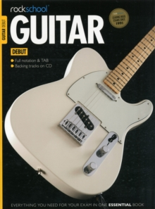 Rockschool Guitar Debut, Mixed media product Book