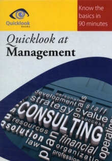 Quicklook at Management, Paperback Book