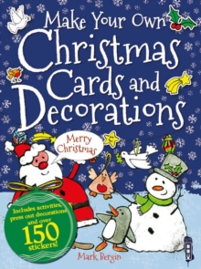 Make Your Own Christmas Cards and Decorations, Paperback Book