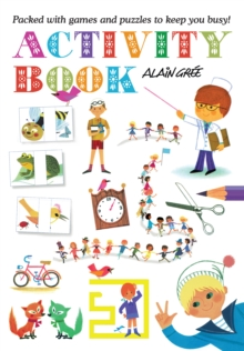 Alain Gree Activity Book, Paperback / softback Book