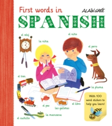 First Words in Spanish, Paperback Book