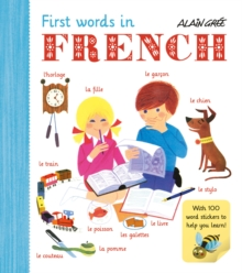First Words in French, Paperback Book