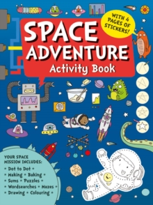 Space Adventure Activity Book, Paperback Book