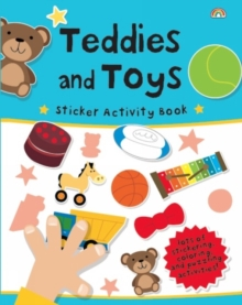 Sticker Activity Book - Teddies and Toys, Paperback / softback Book