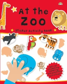 Sticker Activity Book at the Zoo, Paperback / softback Book