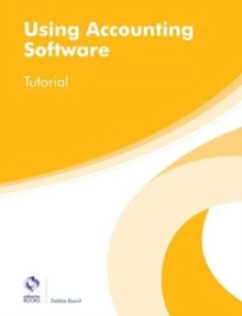 Using Accounting Software Tutorial, Paperback Book