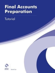 Final Accounts Preparation Tutorial, Paperback Book