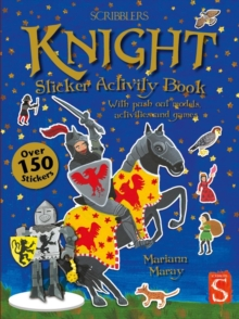 Knight Sticker Activity Book, Paperback Book