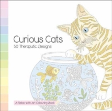Curious Cars - 50 Theraputic Designs : A Relax With Art Colouring Book, Paperback / softback Book