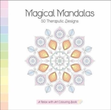 Magical Mandalas : A Relax With Art Colouring Book, Paperback / softback Book