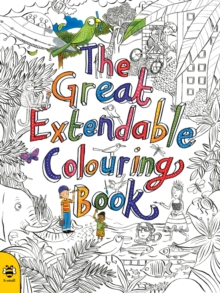 The Great Extendable Colouring Book, Paperback Book