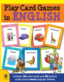 Play Card Games in English, Paperback Book