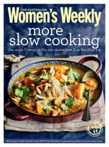 More Slow Cooking, Paperback Book