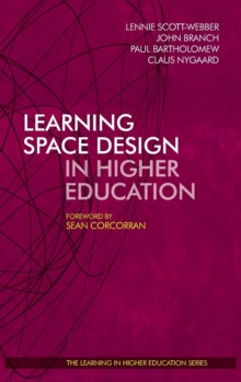 Learning Space Design in Higher Education, Hardback Book
