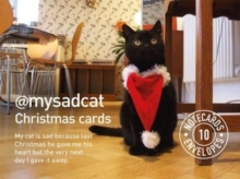 My Sad Cat Christmas Cards, Cards Book