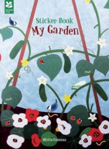 My Garden Sticker Activity Book, Paperback Book