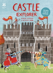 Castle Explorer : Knight Sticker & Activity Book, Paperback Book