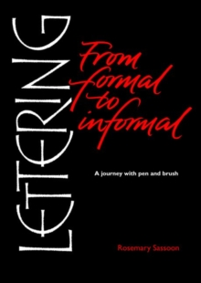 Lettering from Formal to Informal, Paperback Book