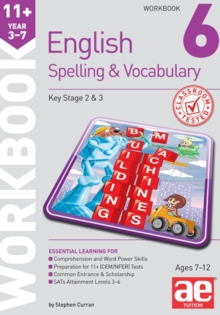 11+ Spelling and Vocabulary Workbook 6 : Intermediate Level, Paperback Book